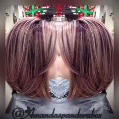 Gorgeous Kenra Color work by stylist Amanda Glenn.