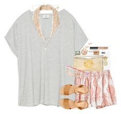 """till the sun goes down..."" by sdyerrtx ❤ liked on Polyvore featuring Zara, Free People, Calypso St. Barth, Tory Burch, Kendra Scott, Sydney Evan, Stella & Dot, Benefit, NARS Cosmetics and Shashi"