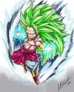 Chibi Broly 3 by ShadowMaster23