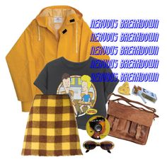 """""""nervous breakdown"""" by silkwitch on Polyvore featuring N°21, Gucci and Rowallan"""