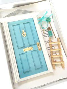 Fairy Door, Tooth Fairy Door, Magical Fairy Door, Fairy Garden, Blue Door, Fairy Door Kit, Ann Arbor Door