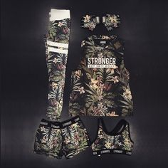Dress up like a jungle warrior! | www.strongerlabel.com #fitnesstights #tanktops…
