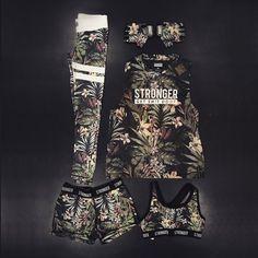 Dress up like a jungle warrior! | www.strongerlabel.com #fitnesstights #tanktops…
