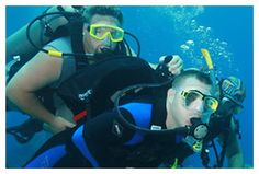 "The Dive Pirates Foundation serves clients with spinal cord injuries, neurological disorders, or amputations.  They are based out of Texas and offer ""escorted diver"" excursions along with adaptive training."