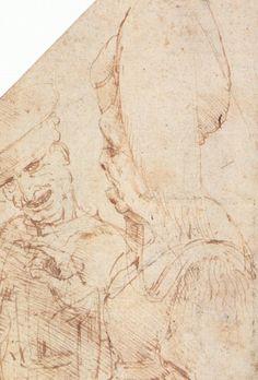 Leonardo da Vinci - ugly couple