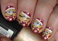 Uñas de Navidad – 50 excelentes ideas   Decoración de Uñas - Manicura y Nail Art