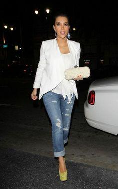 Kim Kardashian Fashion and Style - Kim Kardashian Dress, Clothes, Hairstyle - Page 58
