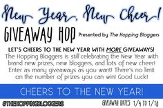 New Year, New Cheer Giveaway Hop