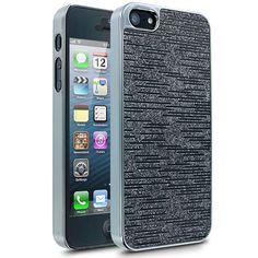 Cellairis Glitter Case for Apple iPhone 5 - Black