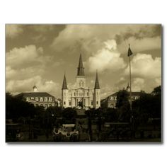 Saint Louis Cathedral New Orleans Louisiana Post Card