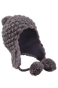 Poodle Knitted Hat