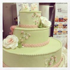 Sweet wedding - by romina @ CakesDecor.com - cake decorating website