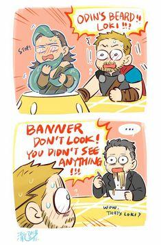 Thor 3 deleted scene 2/2 || Loki || Cr: 澈(Che)
