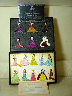 Priority: ★★★★★  D23 Disney Designer Princess Set 10 Pins Le 150 Designer Villain Set 6 Le 200 | eBay $2250