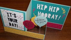 Stampin' on the Prairie: Party Pop-Up, Z-fold card, Party with cake and Party Pants stamp sets