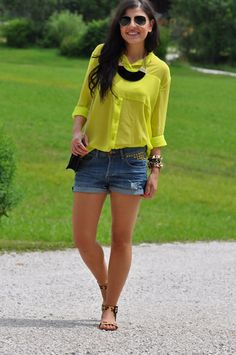 fashiones: Lime Blouse