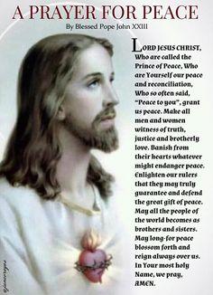Novena Prayers, Catholic Prayers, Prayer For Peace, Daily Prayer, Prayer Quotes, Bible Quotes, Novenas Catholic, Keep Life Simple, Personal Prayer