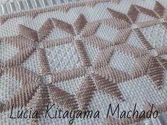 Embroidery Designs, Types Of Embroidery, Learn Embroidery, Bargello, Crotchet Patterns, Crochet Table Runner, Drawn Thread, Hardanger Embroidery, Satin Stitch