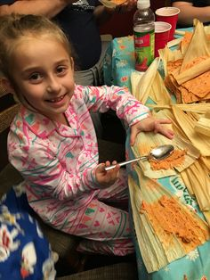She loved making tamales