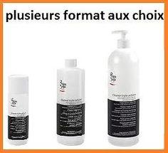 cleaner triple action-degraissant gel uv ongle,pinceau,dissolvant peggy sage[950ml]