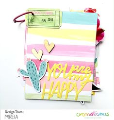 ¡Buenos días! Después de un parón necesario, vuelvo a las andadas. Desconectar un poquito me ha ido requetebién para pensar, reflexionar y, sobre todo, para estar a tope con la princesa de la casa, qu Mini Scrapbook Albums, Scrapbook Paper Crafts, Scrapbook Cards, Mini Albums Scrap, Diy Crafts For Girls, Happy Design, Album Book, Mini Books, Flip Books