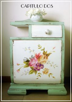 Decoupage Furniture, Upcycled Furniture, New Furniture, Furniture Makeover, Painted Furniture, Furniture Design, Shabby Chic Dining Room, Shabby Chic Furniture, Chalk Paint