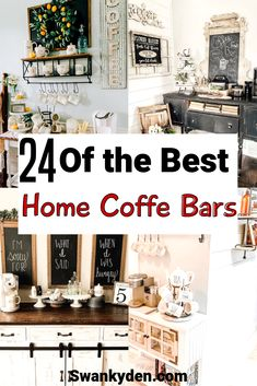 Home coffee bars and coffee stations are the new living room and kitchen décor style trend everyone is going crazy for. Click through if you want to coffee bar ideas that will give you home a… coffee station Coffee Bar Design, Coffee Bar Home, Coffee Bars, Coffee Corner, Coffee Time, Coffee Cup, Coffee Maker, Rustic Mugs, Rustic Wine Racks