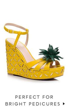 perfect for bright pedicures.