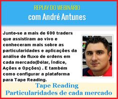 Replay - Palestra Tape Reading http://www.scalpertrader.com.br/palestra-tape-reading/