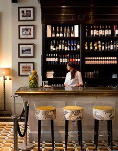 Sherry Bar at Restaurant Hispania in London - hispanialondon.com