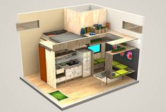 Tiny Houses:Small Spaces: Photo