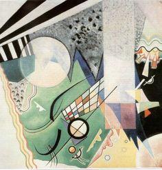 wassily kandinsky,  composición verde 1923