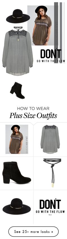 """""""Effortless style"""" by youaresofashion on Polyvore featuring Alice & You, Zizzi, Eugenia Kim, Steve Madden and dress"""