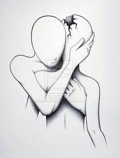 We all need someone to be there for us with our broken pieces...