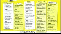 putzplan für den Frühjahrsputz  http://www.putzkult.de/media/putzkult_downloads/Putzplan-Fruehjarsputz.pdf
