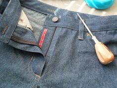 More cute jeans details - by rustybobn, via Flickr