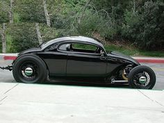 hot rod, muscle cars, rat rods and girls Vw Beetle Custom, Custom Vw Bug, Vw Bus, Hot Rods, Vw Rat Rod, Kdf Wagen, Vw Vintage, Vw Beetles, Fast Cars