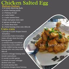 Chicken salted egg