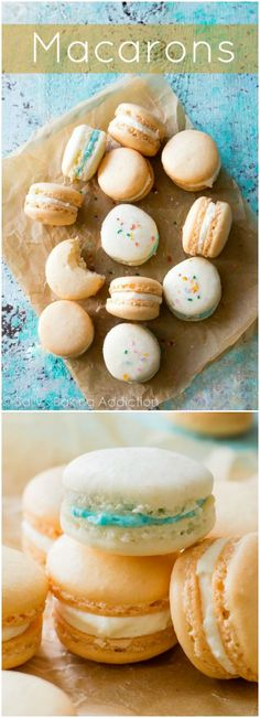 A complete guide to making basic French macaron cookies as good as the expensive bakeries!