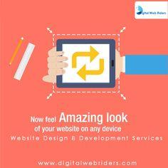 SEO India Higherup is providing responsive web designs for your websites Web Design Firm, Digital Web, Interactive Media, Responsive Web Design, Digital Marketing Services, Design Development, Internet Marketing, Seo, Letters