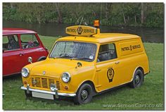 Mini 95 Van AA front