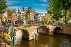 Can got before my romania trip :D 2nt Amsterdam :D  Take a scenic bike ride through Amsterdam, passing through the cobbled streets filled with tulips and canals, and you'll quickly fall in love with the Netherlands' most vibrant city...