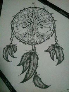 dreamcatcher x tree of life by wemondli02