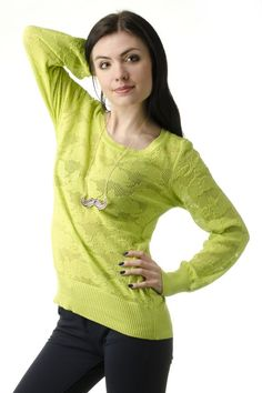 Sweter ażurowy od Signity Spring Trends, Pullover, Sweaters, Fashion, Moda, Fashion Styles, Sweater, Fashion Illustrations, Sweatshirts