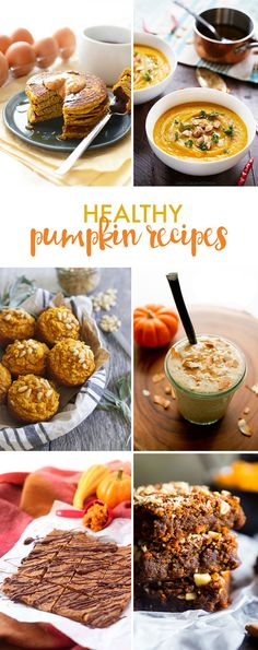 Healthy pumpkin reci