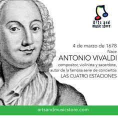 4 de marzo de 1678, nace Antonio Vivaldi.
