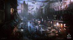Assassin's Creed: Syndicate Street View by daRoz.deviantart.com on @DeviantArt