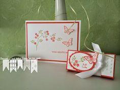 Mit Liebe - Hochzeitskarte und Gastgeschenk
