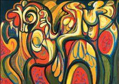 Puertorican artist Augusto Marin