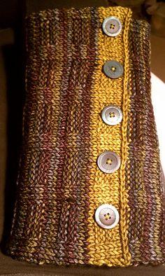 Free Pattern: Woven Cowl